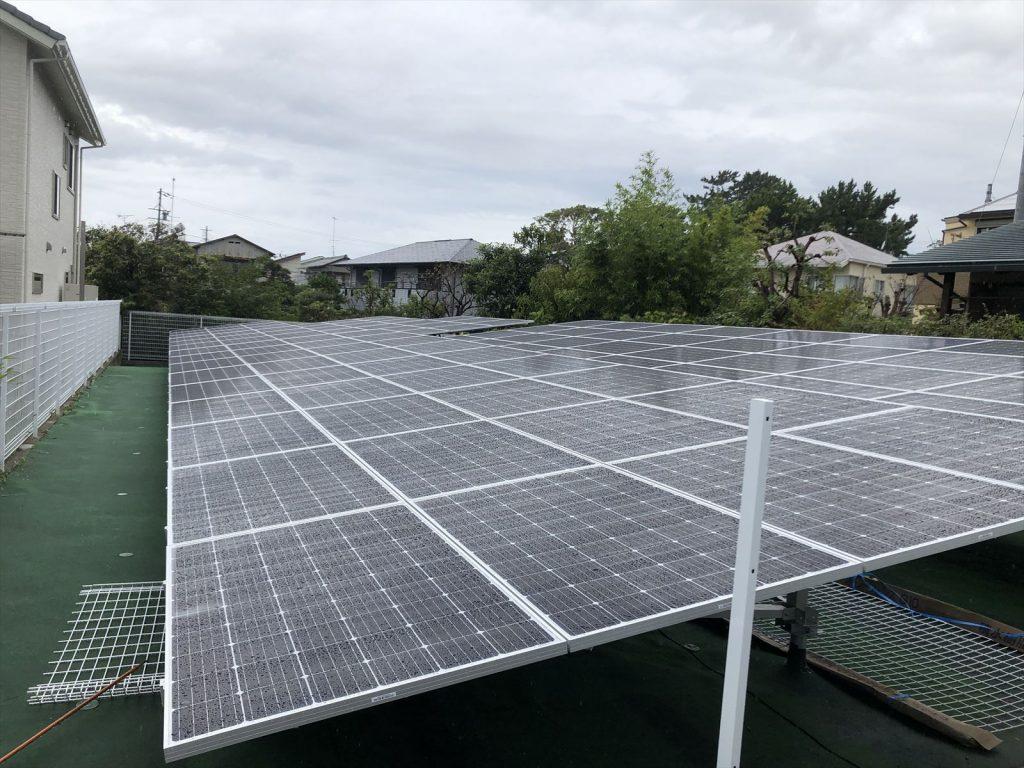 野立て太陽光発電【浜松市中区 H様】