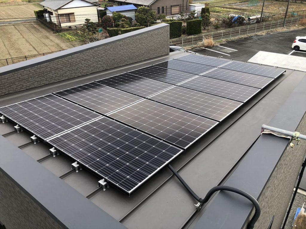 太陽光発電【浜松市浜北区 O様】